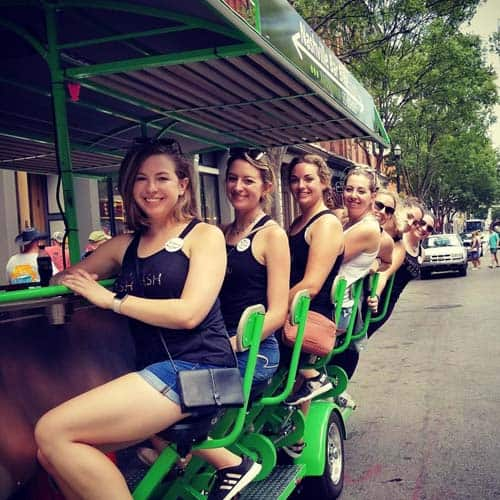 Bachelorette Party Ideas - Nashville Pedal Tavern
