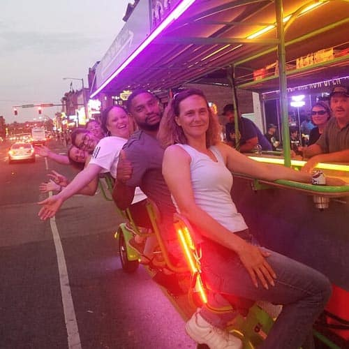 Things to do in Nashville - Bar Bike Tour 2019