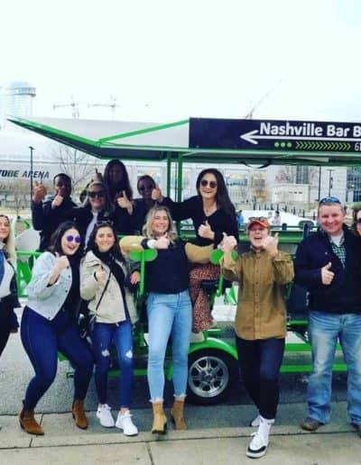 Beer Bike tours in Nashville