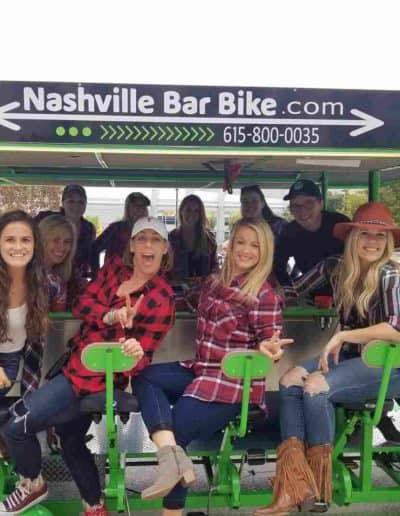 Girls Day - Nashville Bar Bike