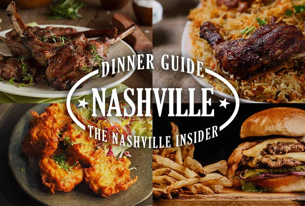 Dinner Guide to Nashville – Best Places to Eat | The Nashville Bar Bike