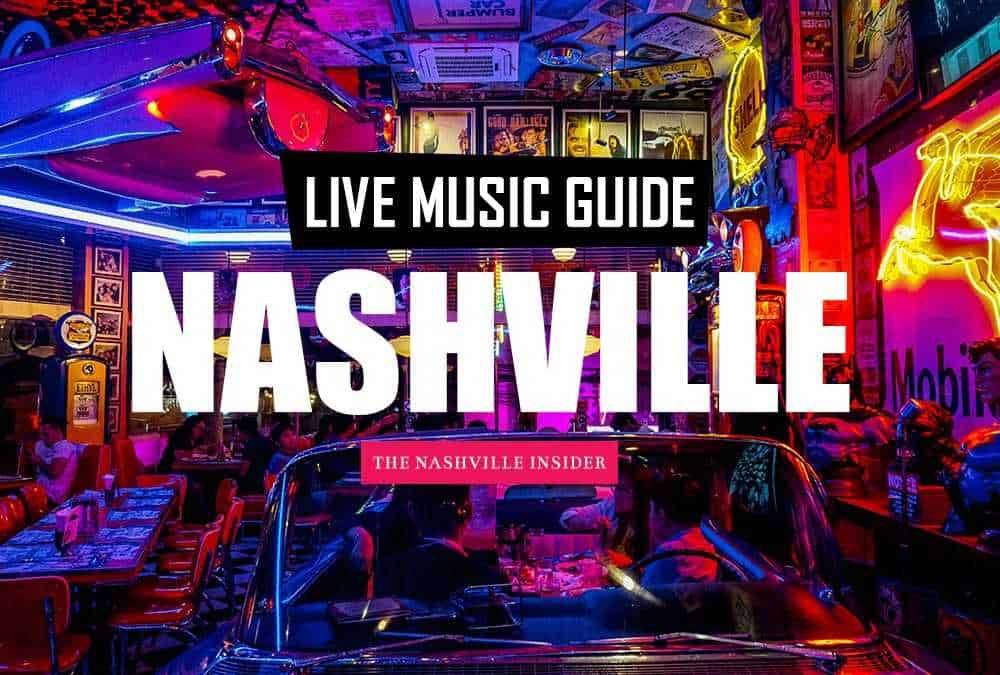 Live Music Guide to Nashville - The Nashville Bar bike