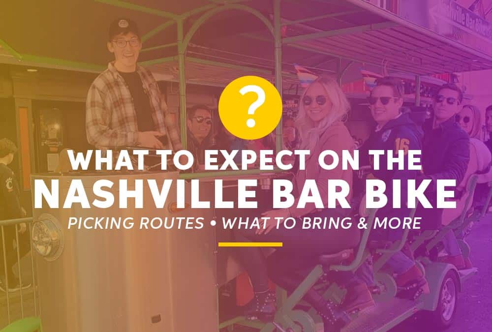 What to expect - Book a Pedal Tavern Tours Nashville
