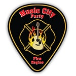 Music City Party Fire Engine - Transportainment Guide to Nashville