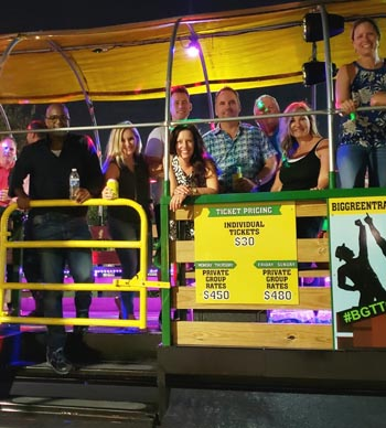 Party Rides in Nashville - Pricing