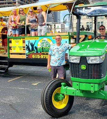 big green trailer rentals in nashville