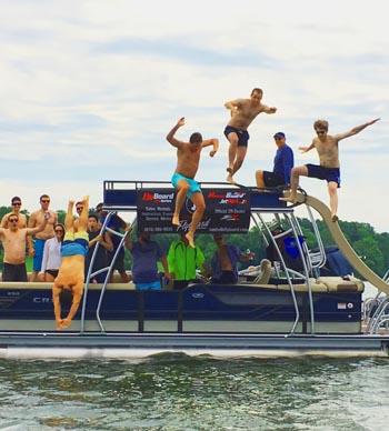 party boat nashville rentals