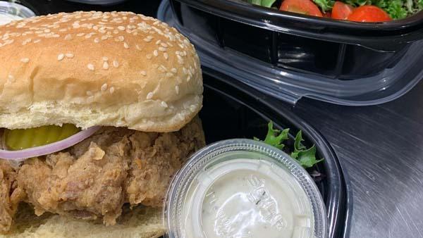 Vegan chicken Nashville