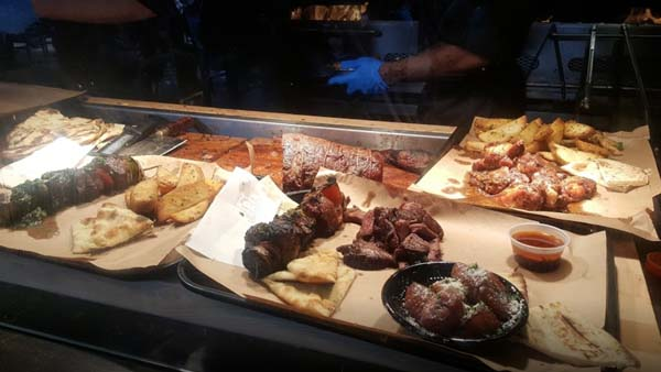Large portion Latin Food Nashville
