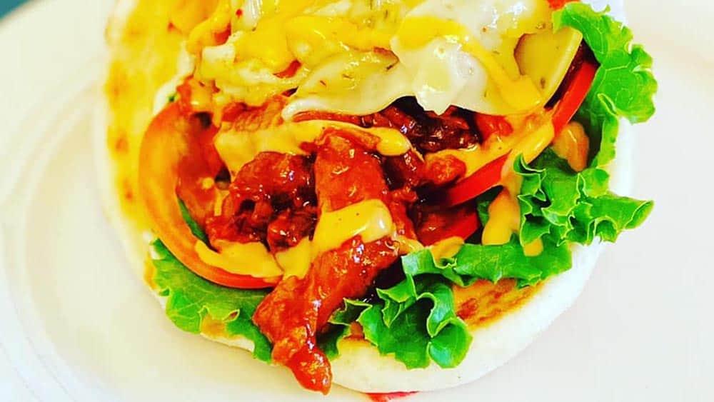 Vegan Burrito Nashville