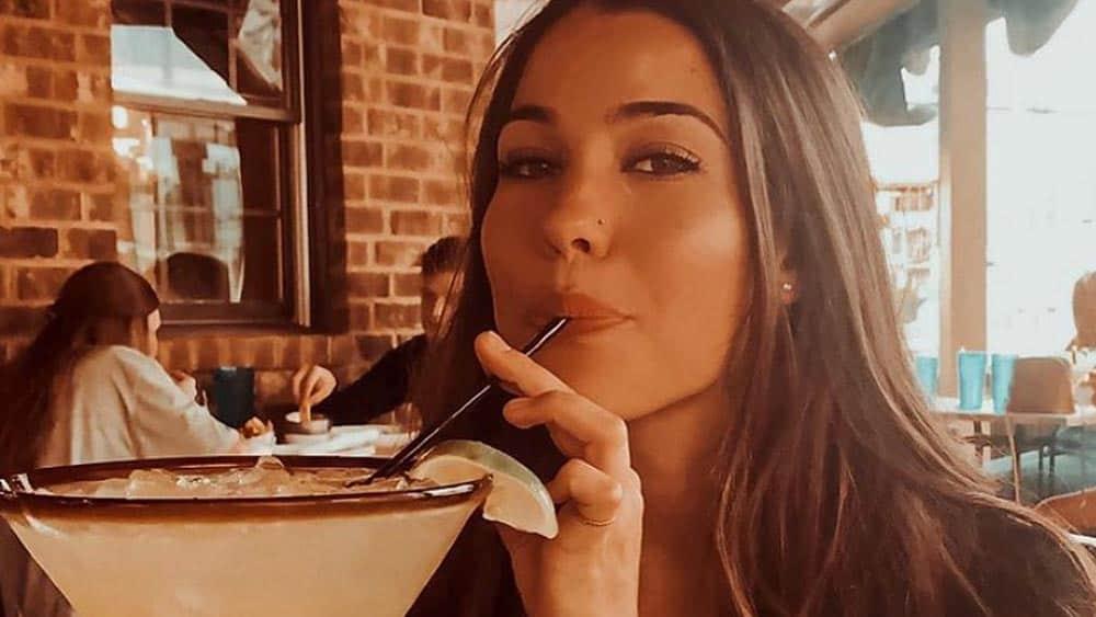 Beautiful Girl Drinking Margarita - Nashville