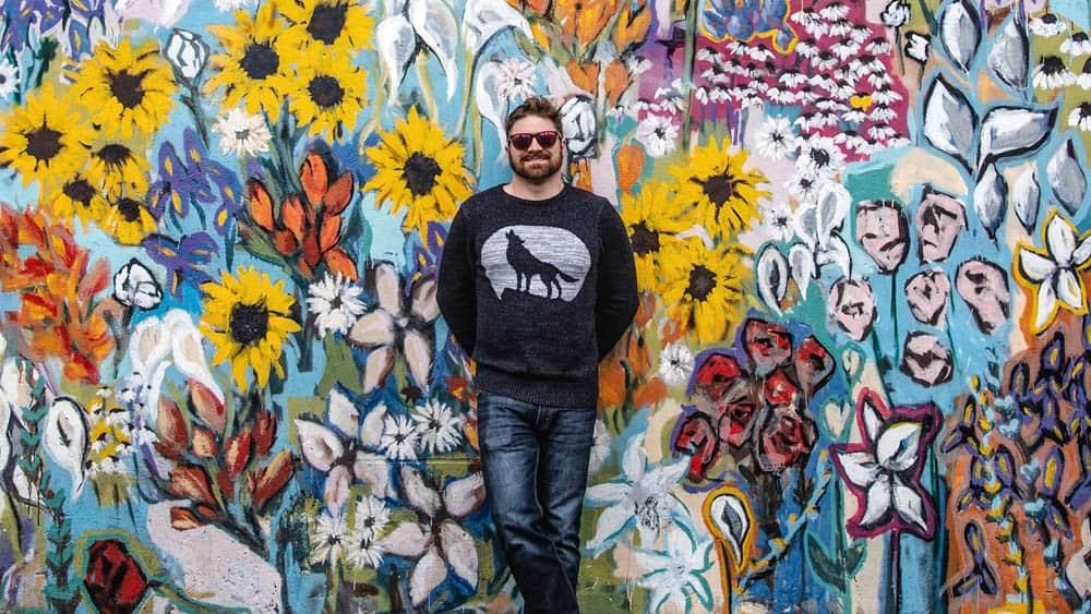 Flowers Mural Nashville Tn