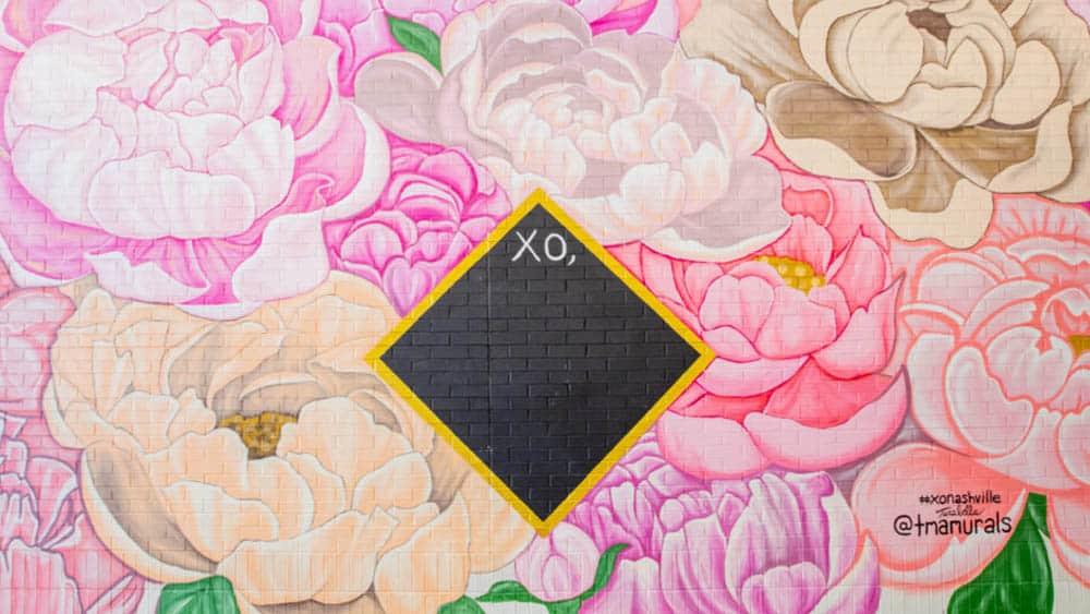 XO Mural Nashville - Best Selfie Spots
